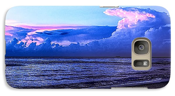 Galaxy Case featuring the photograph Blue Morning by Don Durfee