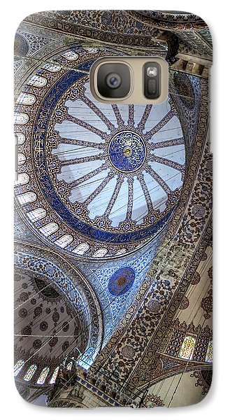 Galaxy Case featuring the photograph Blue Mosque by Ross Henton