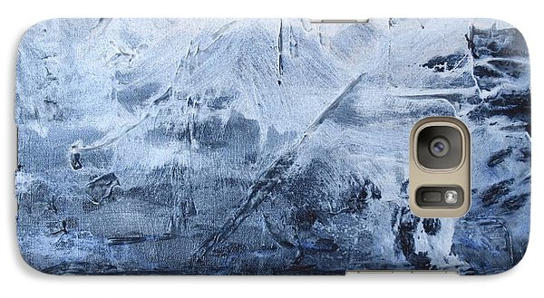 Galaxy Case featuring the photograph Blue Mountain by Susan  Dimitrakopoulos