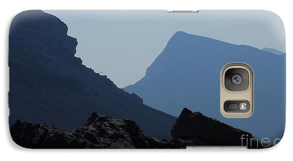 Galaxy Case featuring the photograph Blue Mountains by Marianne NANA Betts