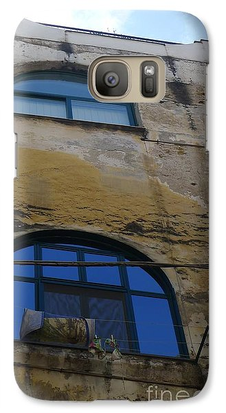 Galaxy Case featuring the photograph Blue by Nora Boghossian