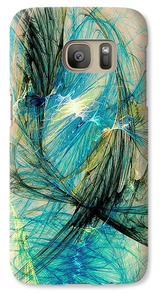 Blue Phoenix Galaxy S7 Case