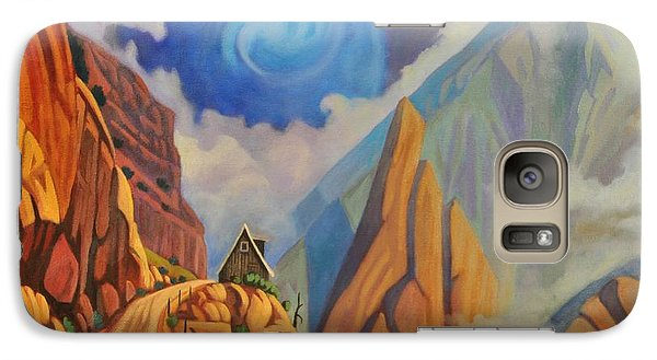 Galaxy Case featuring the painting Cliff House by Art James West
