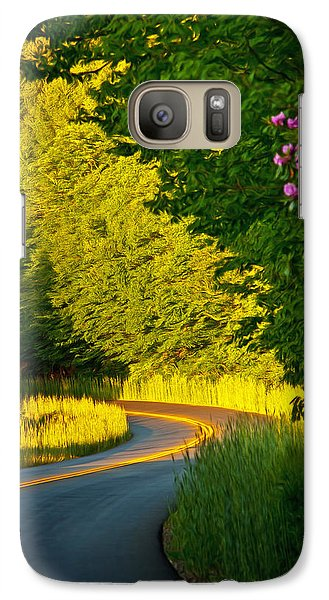 Galaxy Case featuring the photograph Blue Ridge Afternoon by John Haldane