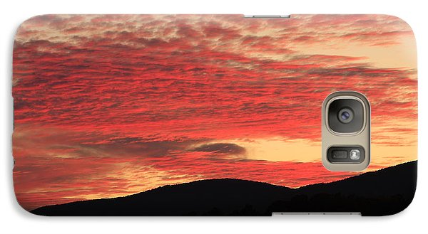 Galaxy Case featuring the photograph Blue Ridge Mountain Sunset-alabama by Mountains to the Sea Photo