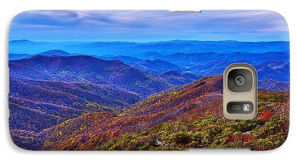 Galaxy Case featuring the photograph Blue Ridge Parkway by Alex Grichenko