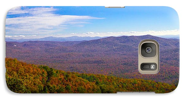 Galaxy Case featuring the photograph Blue Ridge Parkway by Marion Johnson