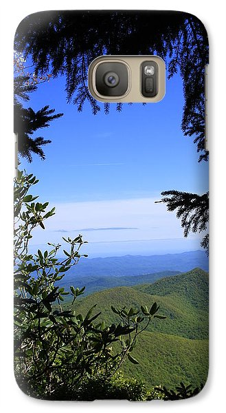 Galaxy Case featuring the photograph Blue Ridge Parkway Norh Carolina by Mountains to the Sea Photo