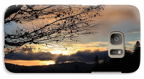 Galaxy Case featuring the photograph Blue Ridge Parkway Sunrise by Mountains to the Sea Photo