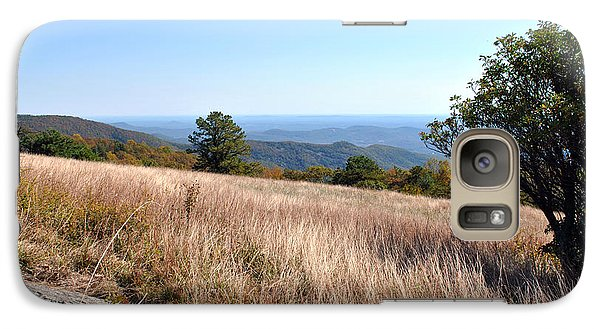 Galaxy Case featuring the photograph Blue Ridge View by Kelly Nowak