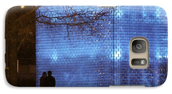 Galaxy Case featuring the photograph Blue Romance by Kate Purdy