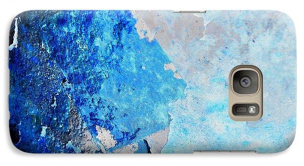 Galaxy Case featuring the photograph Blue Rust by Randi Grace Nilsberg