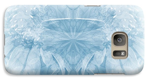 Galaxy Case featuring the photograph Blue Serinity by Geraldine DeBoer
