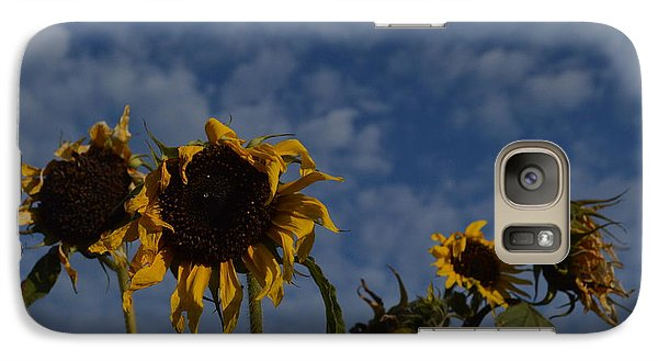 Galaxy Case featuring the photograph Blue Sky Buddies by Brian Boyle