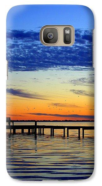 Galaxy Case featuring the photograph Blue Sky by Faith Williams