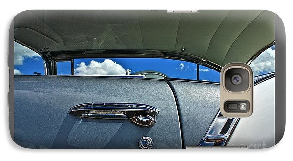 Galaxy Case featuring the photograph 1956 Chevy Bel Air by Linda Bianic