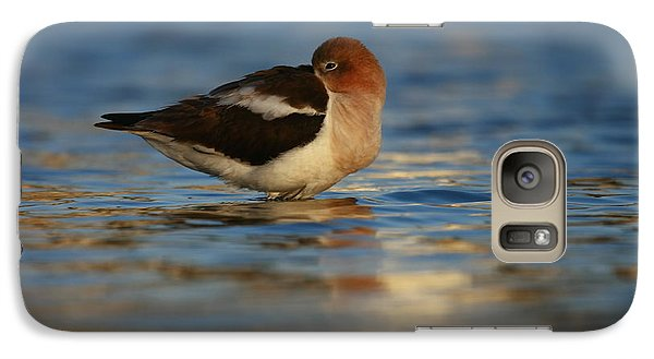 Galaxy Case featuring the photograph Blue Solitude by John F Tsumas