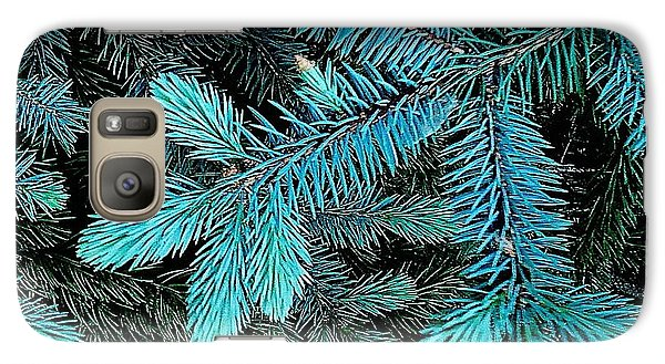Galaxy Case featuring the photograph Blue Spruce by Daniel Thompson
