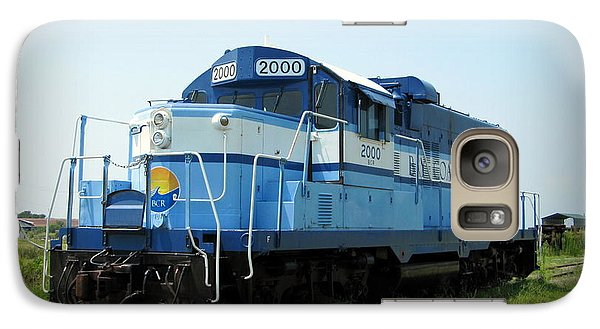 Galaxy Case featuring the photograph Blue Train by Richard Reeve