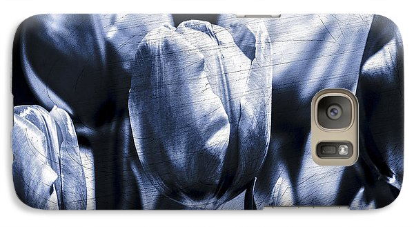 Galaxy Case featuring the photograph Blue Tulips by Craig Perry-Ollila