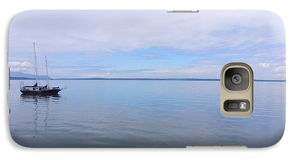 Galaxy Case featuring the photograph Blue Water by Karen Molenaar Terrell