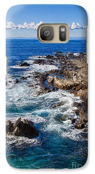 Galaxy Case featuring the photograph Blue Wave by Tad Kanazaki