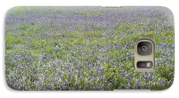 Galaxy Case featuring the photograph Bluebell Fields by John Williams