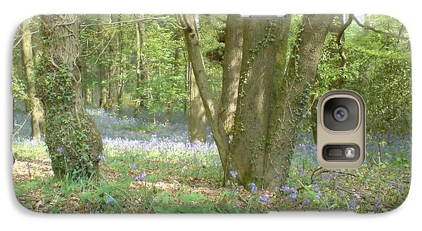 Galaxy Case featuring the photograph Bluebell Wood by John Williams