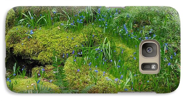 Galaxy Case featuring the photograph Bluebells  by Marilyn Wilson