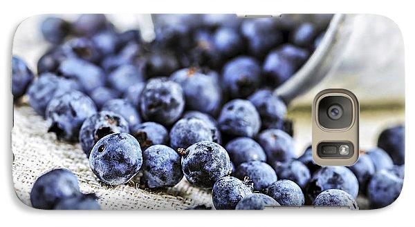 Blueberries Galaxy Case by Elena Elisseeva