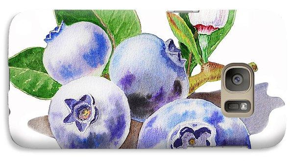 Artz Vitamins The Blueberries Galaxy S7 Case