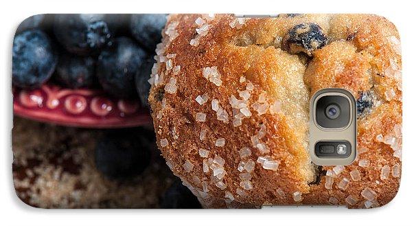 Blueberry Muffins Galaxy Case by Brandon Bourdages
