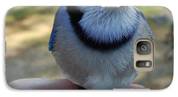 Galaxy Case featuring the photograph Bluejay by Mim White