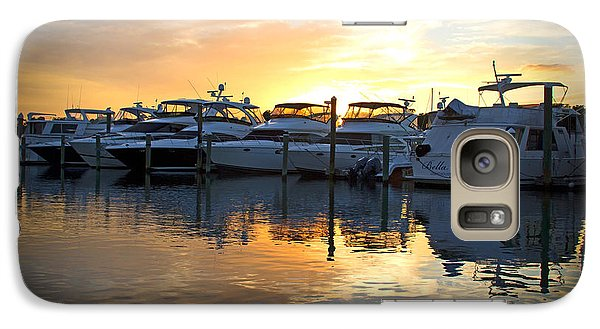 Galaxy Case featuring the photograph Bluewater Sunset by Phil Mancuso