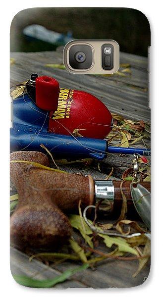 Galaxy Case featuring the photograph Blured Memories 01 by Peter Piatt