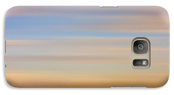 Galaxy Case featuring the photograph Blurred Sky 8 by John  Bartosik