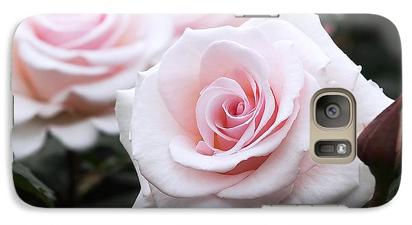 Blush Pink Roses Galaxy S7 Case