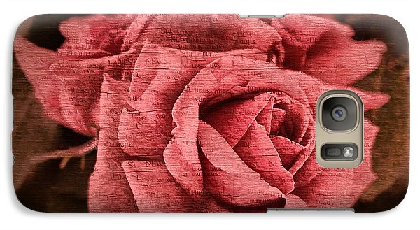 Galaxy Case featuring the photograph Blush by Wallaroo Images