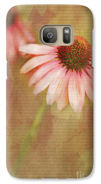 Galaxy Case featuring the painting Blushing by Linda Blair