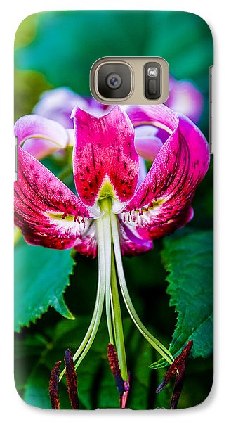 Galaxy Case featuring the photograph Blushing by Mary Timman