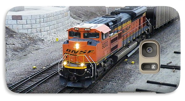 Galaxy Case featuring the photograph Bnsf Kc Rail Yards by The GYPSY And DEBBIE