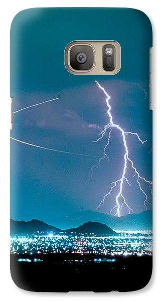 Bo Trek The Lightning Man Galaxy S7 Case by James BO  Insogna
