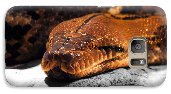 Boa Constrictor Galaxy S7 Case by Jai Johnson
