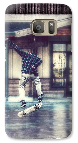 Galaxy Case featuring the photograph Boarder Bliss by Melanie Lankford Photography