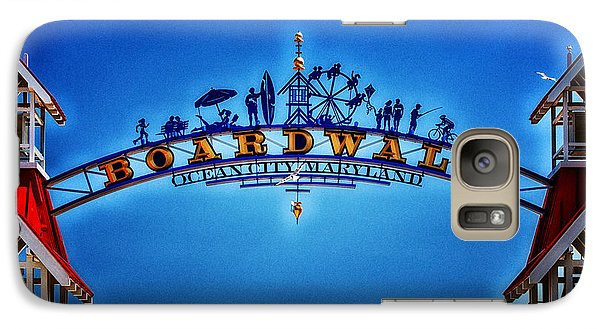 Boardwalk Arch In Ocean City Galaxy S7 Case