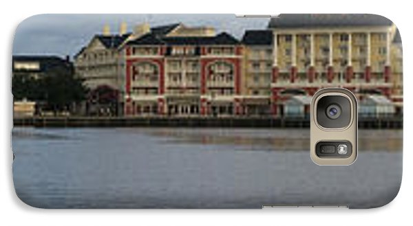 Galaxy Case featuring the photograph Boardwalk Panorama Walt Disney World by Thomas Woolworth