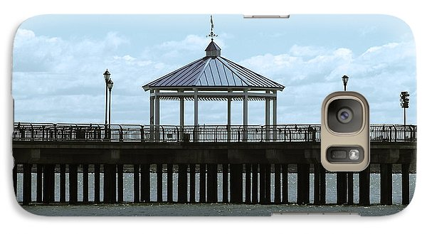 Galaxy Case featuring the photograph Boardwalk by Roseann Errigo