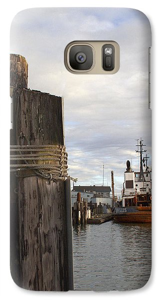 Galaxy Case featuring the photograph View From The Pilings by Suzy Piatt