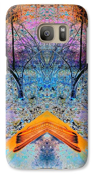 Galaxy Case featuring the photograph Boat Bow by Karen Newell