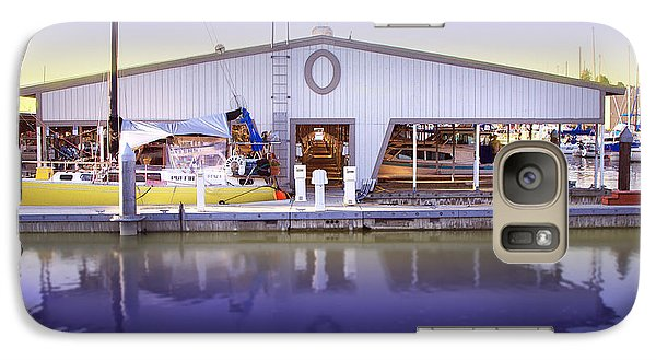 Galaxy Case featuring the photograph Boat House by Sonya Lang